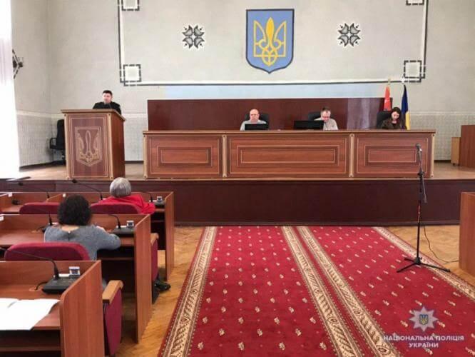 Главный полицейский Константиновки отчитался перед общественностью