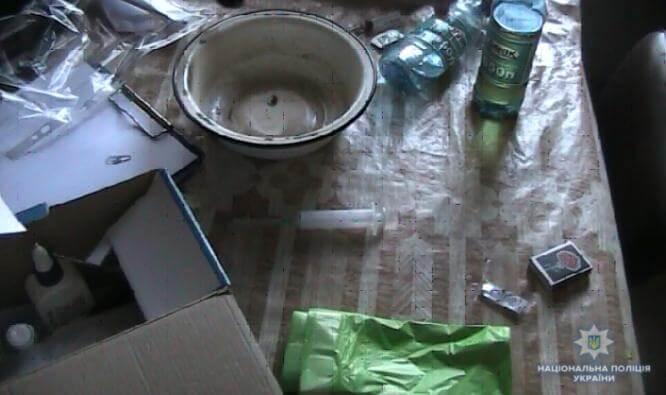 В центре города полицейские Константиновки накрыли наркопритон