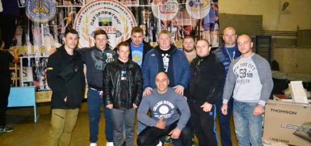 В Константиновке состоялся чемпионат Донецкой области по пауэрлифтингу