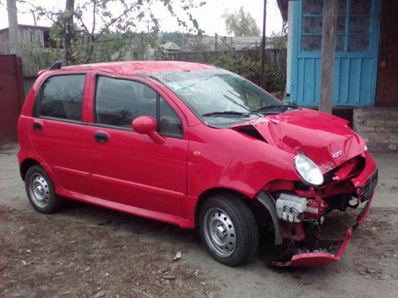 Житель Константиновки угнал и разбил автомобиль