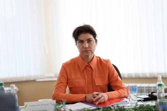 Генпрокурор Ирина Венедиктова провела в Константиновке совещание