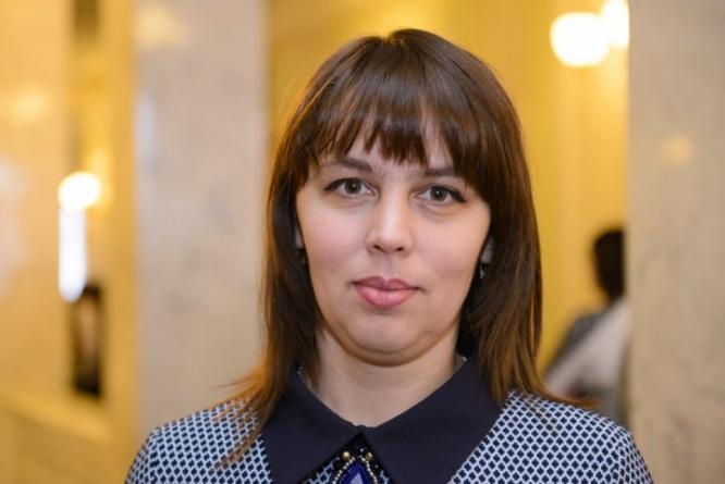 Народный депутат Украины Наталья Веселова
