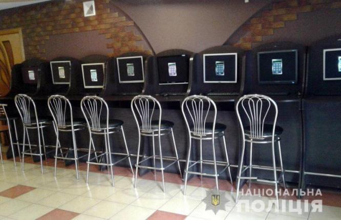 В Константиновке полицейские прекратили деятельность 4 игорных заведений