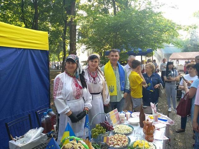 Константиновка приняла участие в праздновании Дня Европы