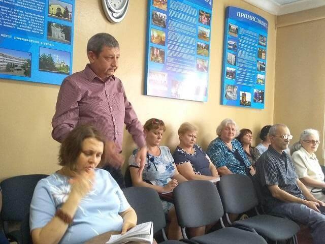 В Константиновке прошло первое заседание общественного совета при исполкоме города
