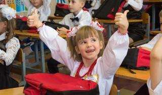 Хоккейный клуб «Донбасс» поздравил школьников Константиновки с Днем знаний