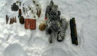 На одном из кладбищ Константиновки обнаружена взврывчатка