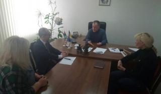 Константиновку посетил глава политического отдела Посольства Японии