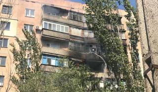 В Константиновке горело сразу несколько этажей многоэтажки по Европейской