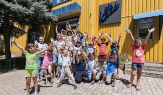 Школьники поселка Николаевка Покровского района увидели, как делаются десерты Bonjour