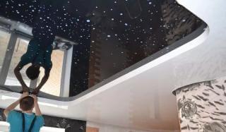 Натяжные потолки: разнообразие полотен и особенности их монтажа