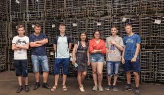 Студенты аграрного техникума ЛНАУ увидели лучшие предприятия Донецкой области
