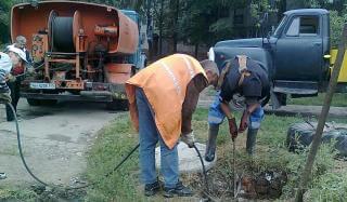 За неделю специалисты службы водоснабжения устранили 41 порыв
