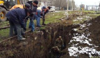 Коллектив Константиновского ПУВКХ устранил 37 порывов трубопровода