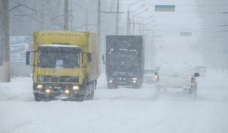 В Донецкой области временно ограничено движение транспорта