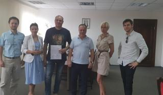 Городским советом подписано Соглашение по восстановлению парка «Тихий»