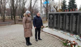 В Константиновке минутой молчания почтили память ликвидаторов Чернобыльской АЭС