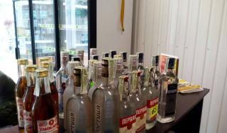 В Константиновке обнаружили магазин, который торговал алкоголем без лицензии