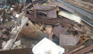 В Константиновке обнаружили незаконный пункт заготовки металлолома