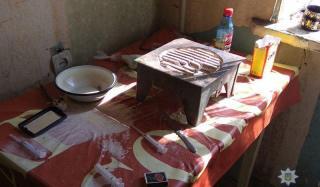 В Константиновке полицейские ликвидировали очередной наркопритон