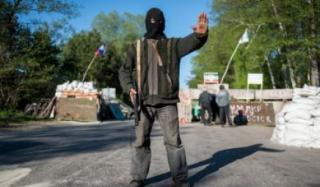Задержали участника ДНР дежурившего на блокпосту