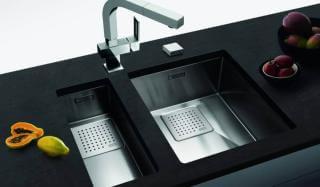 Кухонные мойки Franke: технологии производства, виды и преимущества