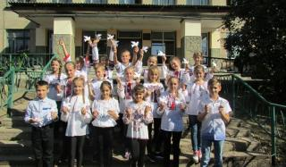 Дети Константиновки отметили Международный день Мира