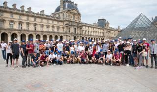 Студентов Донетчины покорила столица Франции: что увидели ребята в Париже