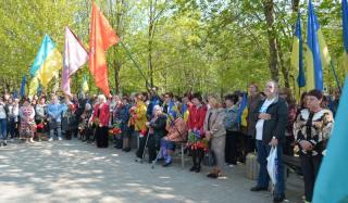 В Константиновке почтили память ликвидаторов аварии на Чернобыльской АЭС