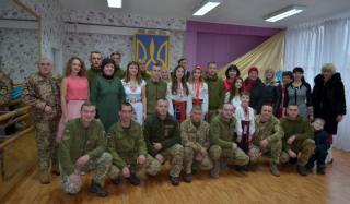В Константиновском дворце культуры поздравили защитников Украины