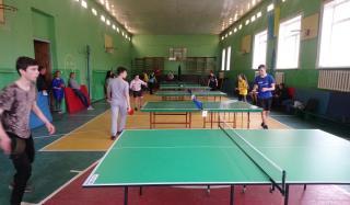 В Константиновке были проведены соревнования по настольному теннису