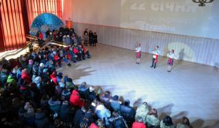 В Константиновке состоялась программа, посвященная Дню Соборности Украины