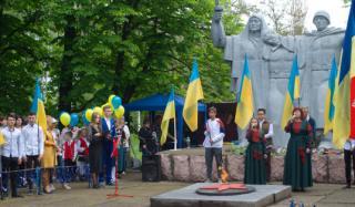 В Константиновке отметили День победы над нацизмом во Второй мировой войне