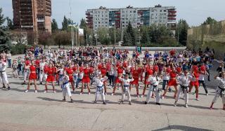 В Константиновке прошли мероприятия по случаю Дня физической культуры и спорта