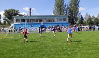 ОШ №1 - победители турнира по футболу среди учебных заведений города