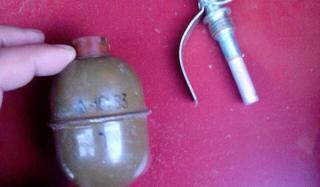 Константиновке обнаружена граната