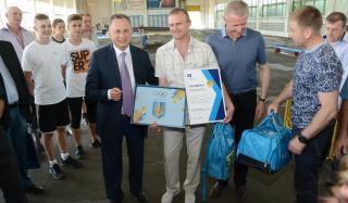 Борис Колесников и Сергей Бубка построят в Константиновке спорткомплекс