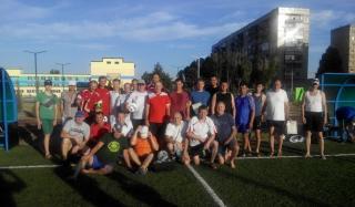 В Константиновке состоялся городской турнир по мини футболу среди ветеранов