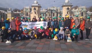 В рамках программы «Тропами родной Украины» дети Константиновки посетили Киев