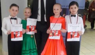 Константиновцы заняли призовые места на международных соревнованиях по танцам