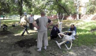 В Константиновке установят 7 площадок с тренажерным оборудованием