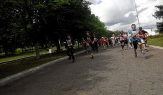 В Константиновке состоялся пробег, посвященный Олимпийскому Дню бега