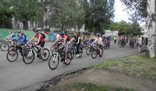 В Константиновке прошел велофестиваль «Крутые педали»