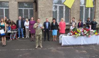 Сегодня, 1 сентября школы Константиновки приняли 461 первоклассника