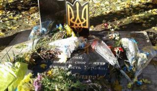 В Константиновке разрушили памятный знак участникам АТО через сутки после установки