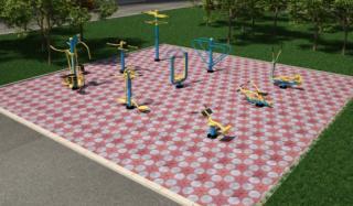 К лету в Донецкой области появится 200 новых спортивных площадок