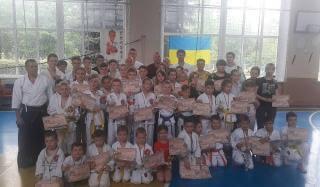 Константиновцы заняли первое место на соревнованиях по традиционному каратэ