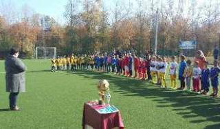 В Константиновке состоялось открытое первенство района по мини-футболу