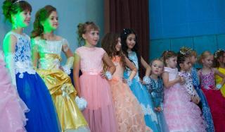 В Константиновке прошел конкурс «Мини-Мисс»