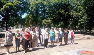 В Константиновке почтили память героев второй мировой войны